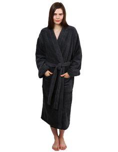 49cb8191cf TowelSelections Women s Robe Turkish Cotton Terry Kimono Bathrobe Made in  Turkey at Amazon Women s Clothing store  Towelselections Egyptian Cotton  Terry ...