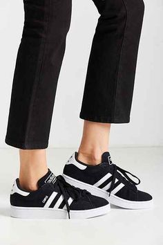 Shop women's sneakers at Urban Outfitters for your next pair of tennis shoes. We have everything from wild prints to solid basics to fit anyone's style. How To Wear Sneakers, Women's Sneakers, Adidas Campus, Fade Styles, Clearance Shoes, Adidas Superstar, Ball Dresses, Shoe Brands, Sports