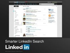The new #LinkedIn search 2013