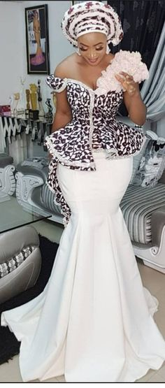 african fashion that looks amazing ! African Lace Dresses, African Wedding Dress, Latest African Fashion Dresses, African Print Fashion, Africa Fashion, African Fashion Designers, Women's Fashion, Hijab Fashion, African Attire