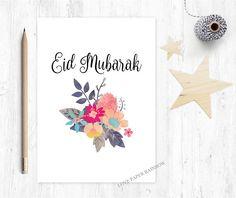 feliz eid tarjeta de felicitación de eid eid mubarak