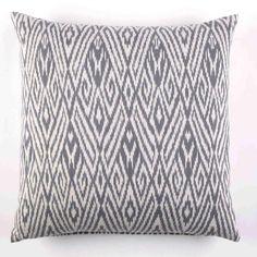 John Robshaw Fog Ikat Cushion