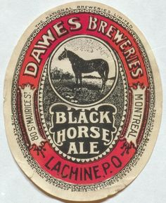 Black Horse Ale by Thomas Fisher Rare Book Library, via Flickr