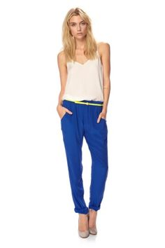 Chelsea Silk Trousers - French Connection Usa