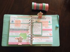Coloursnme: Upcoming Week in my Filofax Original Yellow Personal Size and Kikki-K Large Time Planner