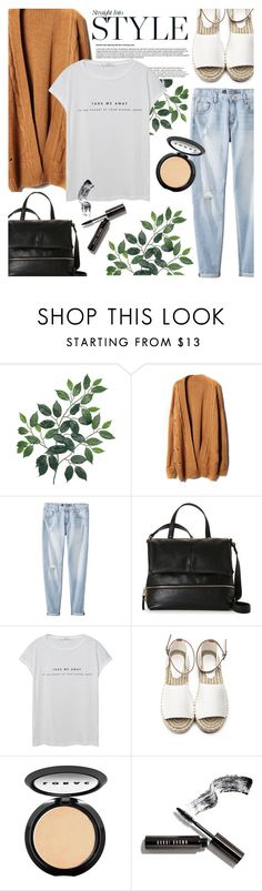 """Sem título #744"" by sofiasolfieri ❤ liked on Polyvore featuring Mossimo, French Connection, MANGO, LORAC, Bobbi Brown Cosmetics, casual and casualoutfit"