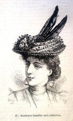 1897. Revista La Moda Elegante Ilustrada
