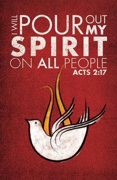 Acts 2:17 ~ I will pour out My Spirit on ALL people