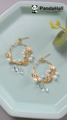 Wire Jewelry Designs, Handmade Wire Jewelry, Jewelry Patterns, Handmade Accessories, Wire Wrapped Jewelry, Earrings Handmade, Beaded Jewelry, Gold Accessories, Fashion Accessories