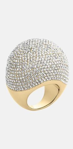 Frivolous Fabulous - Diamond Bubble Ring for Miss Frivolous Fabulous
