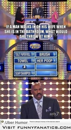 I present my favorite family feud moment in history