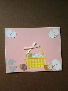 Easter card made by Lynne Toops