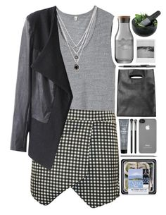 """""""Jules"""" by respira ❤ liked on Polyvore featuring R13, Forever 21, Monki, LSA International, Fresco Towels, Incase, Paper Mate, MAC Cosmetics, Bumble and bumble and Caran D'Ache"""