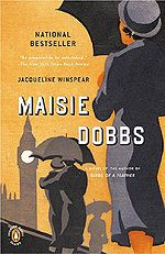 MF recommended...author Jacqueline Winspear writes series about Maisie Dobbs, a psychologist and investigator