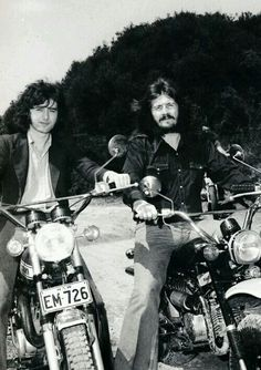 Jimmy & John...motorcycle men?