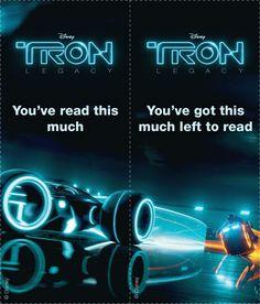 TRON: Legacy Bookmarks 03 Tron Original, Cool Bookmarks, Tron Legacy, Printing, Neon Signs, Reading, School, Disney, Handmade