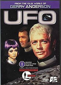 UFO (TV series)  I loved this show, It did the mysterious alien thing years before the X files.