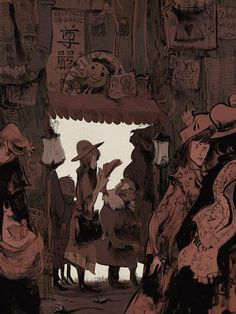 Art by Roman Muradov*  • Blog/Website | (www.bluebed.tumblr.com) • Online Store | (www.inprnt.com/gallery/bluebed) ★ || CHARACTER DESIGN REFERENCES • Find us on www.facebook.com/CharacterDesignReferences and www.pinterest.com/characterdesigh Remember that you can join our community on www.facebook.com/groups/CharacterDesignChallenge and participate to our monthly Character Design contest || ★