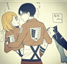 - Petra was shocked when Levi picked her u. Attack On Titan Season 2, Attack On Titan Funny, Attack On Titan Ships, Attack On Titan Fanart, Anime Cupples, Anime Comics, Levi Ackerman, Levi And Petra, Anime Gifts