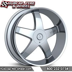 Starr 223 Ohio Chrome Wheels Rims