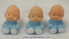 Soft Plastic  Babies - Baby Shower Decoration Ideas - Baby Shower Accents