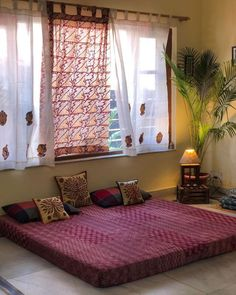 Lately, ethnic home decor has turned out to be progressively mainstream when settling on a subject for decorating. Among the first of the decisions in social decor, is Indian home decor. Indian home decor has turned out to be a… Continue Reading → Indian Bedroom Decor, Home Room Design, Home Decor Bedroom, Indian Room Decor, House Interior, Indian Bedroom, House Interior Decor, Home Decor, Home Decor Furniture