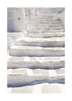 White stairs Wall Art Prints by Marimba Morris | Minted