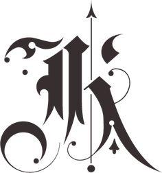 BLAQ font by Giuseppe Salerno, via Behance Calligraphy Letters Alphabet, Tattoo Fonts Alphabet, Typography Alphabet, Graffiti Alphabet, Alphabet Art, Caligraphy, Graffiti Lettering Fonts, Tattoo Lettering Fonts, Creative Lettering