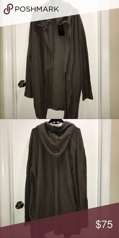 Zara Men's Draped Cardigan Yeezy Style Zara man  Draped taupe assymetrical cardigan sweater long cape coat  Yeezy inspired style   Size XLarge  NWT   Very modern and stylish   Check out my other items !  I ship same or next day📬  Thanks for looking ! Zara Sweaters Cardigan