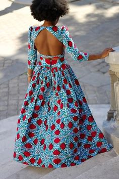 Africa Fashion 304415256053023976 - créée par Natacha Baco Source by rachidaelkhabba African Inspired Fashion, African Print Fashion, Africa Fashion, Ethnic Fashion, Look Fashion, African Attire, African Wear, African Women, African Style