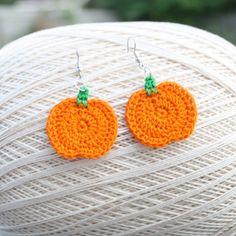 Pumpkin/Apple Earrings
