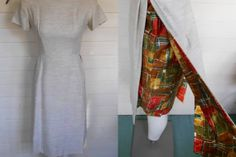 vintage 60s simple but stunning dress by lovestoryvintage on Etsy, $55.00