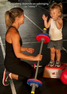 Yes this is going to be me and my little man! He already squats with me! :))