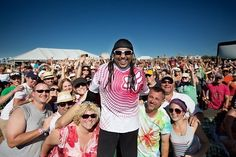 Carter Beauford  My friend Liz was there! She's in the picture!! Yep, I'm jealous.