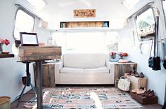 Mobile Vintage Shop #airstream   Sylvia G Photography - Blossom Vintage