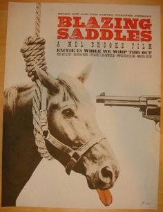 Blazing Saddles - giclee movie poster (click image for more detail) Artist: Brandon Schaefer Venue: The Castro Theatre Location: San Francisco, CA Date: 7/27/2012 Edition: 120; signed and numbered Siz