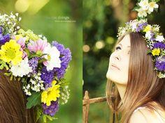 * Nicest Things: Midsommar DIY Flower Crown