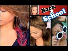 7 Quick + Easy Hairstyles for School! Make sure to comment below what your favorite hairstyle is, and if you try any out, send me pics on my . 7th Grade Hairstyles, Cute Hairstyles For School, Cute Simple Hairstyles, Fast Hairstyles, Trendy Hairstyles, Moda Plus Size, New Hair, Natural Hair Styles, Hair Makeup