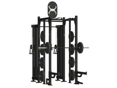 4 X 4 STORAGE CABLE RACK - X1 PACKAGE - Torque Fitness