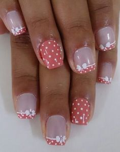 70 Trendy Spring Nail Designs are so perfect for this season Hope they can inspire you and read the article to get the gallery. Fingernail Designs, Toe Nail Designs, Fancy Nails, Pretty Nails, French Nail Art, French Polish, Nail Designs Spring, Fabulous Nails, Flower Nails