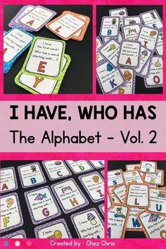 57 Ideas Classroom Games Elementary Common Cores For 2019 Alphabet Crafts, Alphabet Activities, Fun Activities, Interactive Activities, Improve Vocabulary, Vocabulary Games, Classroom Games, School Classroom, Classroom Management