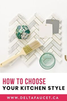 How to Choose Your Kitchen Style White Kitchen Inspiration, Bathroom Inspiration, Design Inspiration, Small White Kitchens, Unique Tile, White Wall Decor, Going For Gold, Kitchen And Bath Design, Kitchen Collection