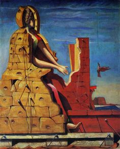 Max Ernst. Saint Cecilia (Invisible Piano). 1923.