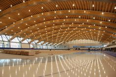 Richmond Oval in Vancouver by Cannon Design