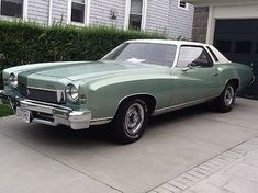 1973 Chevrolet Monte Carlo 2 Door Hardtop for sale in New Bedford, Massachusetts, Black, Green, 350 Ford Classic Cars, Best Classic Cars, Monte Carlo For Sale, Camaro Z, Chevy Muscle Cars, Chevrolet Monte Carlo, Gm Car, Car Photography, Hot Cars
