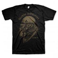 dd4ef070732 Officially licensed Black Sabbath t-shirt featuring a reproduction print of  an original U. tour t-shirt from cotton. Regular fit t-shirt.