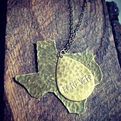 Forever in Your Heart State Necklace- SELECT YOUR STATE, ALL STATES AVAILABLE!!