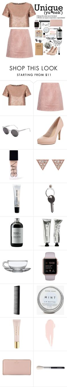 """""""Unique"""" by unique-and-chic ❤ liked on Polyvore featuring Glamorous, Acne Studios, Color Me, RetroSuperFuture, Limited Edition, NARS Cosmetics, ADORNIA, Bobbi Brown Cosmetics, Maison Margiela and Sort of Coal"""