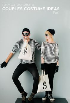 "Robbers costumes for fun runs would be awesome! ""We're stealin' all the fun, y'all!!"""