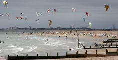 Kitesurfing, Hayling Island #england